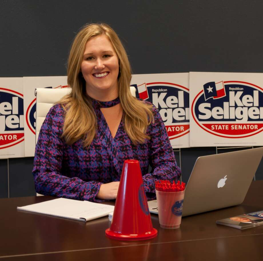 Lauren Michelle Bradford, 29, State Senator Kel Seliger Permian Basin District Director and Campaign Manager Photo: Midland Reporter-Telegram