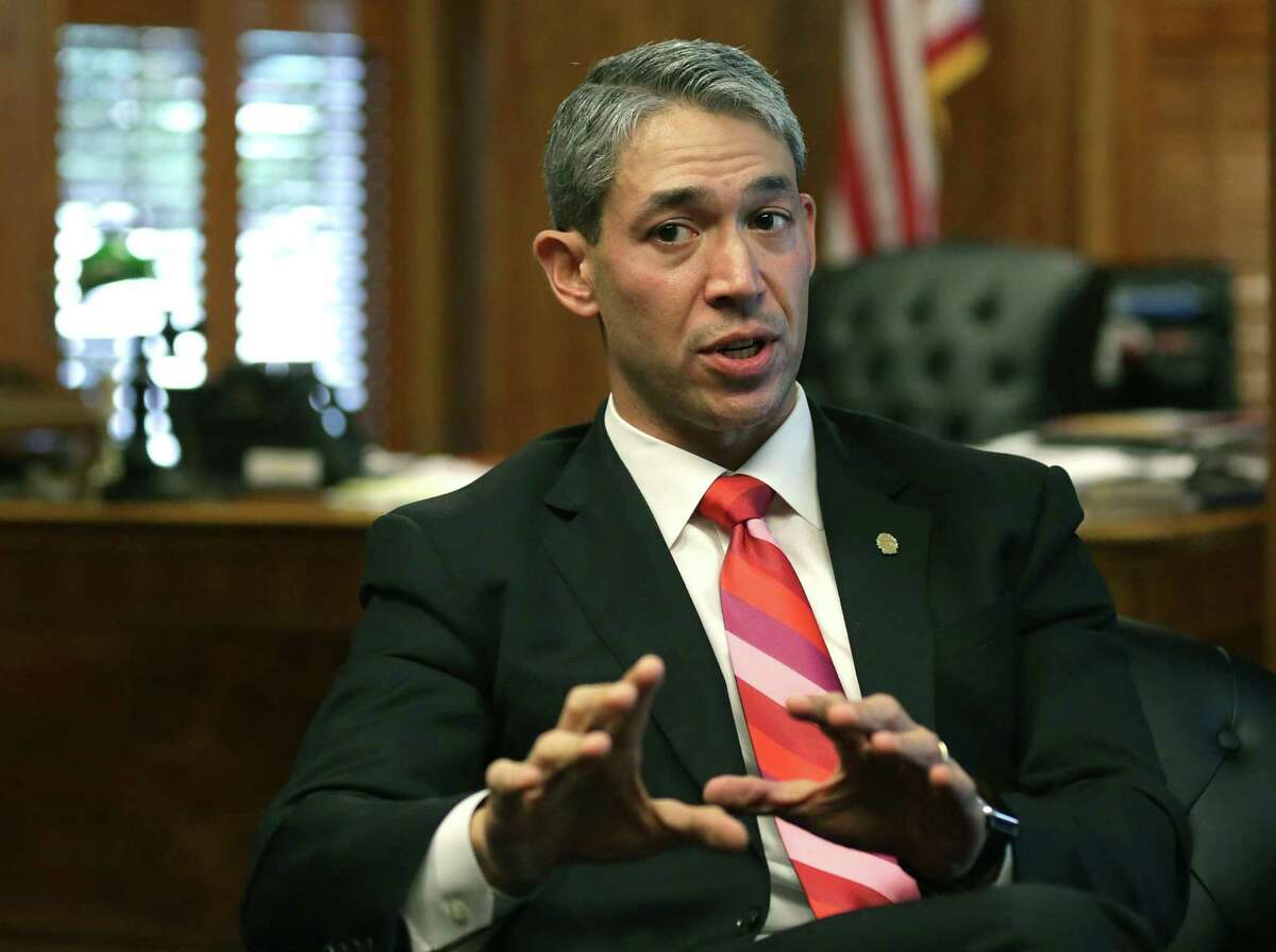 San Antonio Mayor Ron Nirenberg, seen on Oct. 10, 2017, is planning on bolstering agreements with the city's nonprofit partners that protect the public against misuse and loss of tax dollars in the wake of alleged embezzlement at Centro San Antonio.