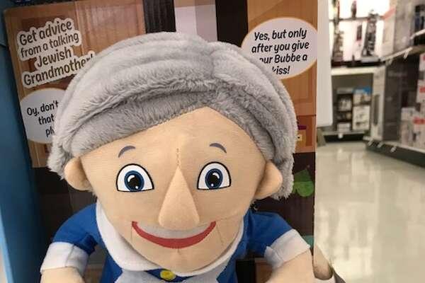 Hanukkah items on display at a Bay Area Target.