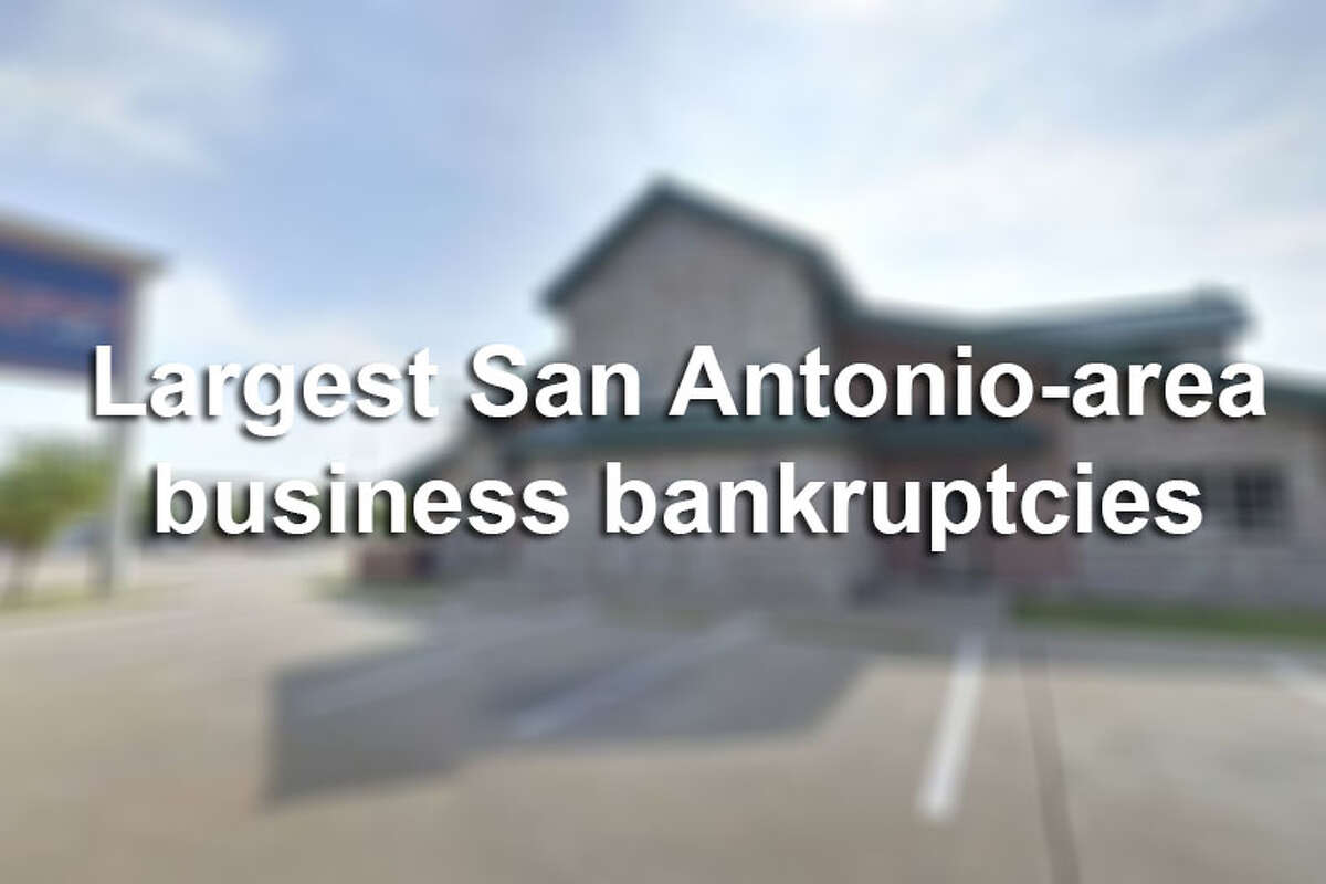 Click ahead to view the biggest San Antonio-area company bankruptcies from 2016-17.