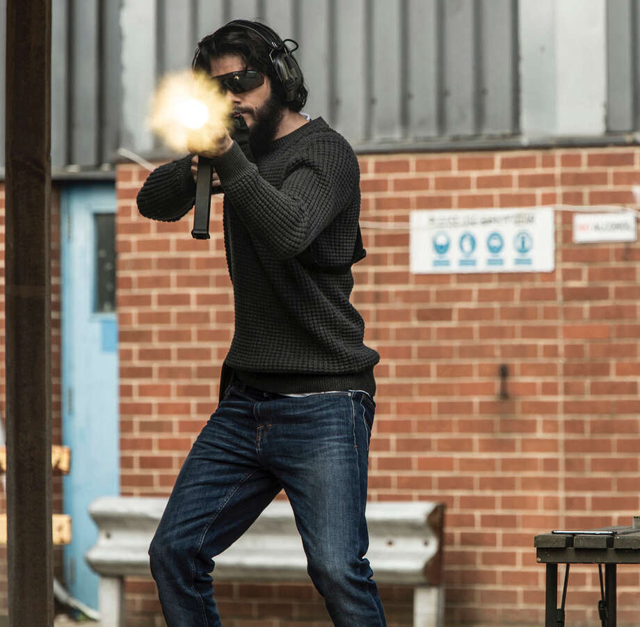 """This image released by Lionsgate shows Dylan O'Brien in a scene from, """"American Assassin."""" (Christian Black/Lionsgate via AP) ORG XMIT: NYET724 Photo: Christian Black / Copyright © 2016 CBS Films Inc. and Lions Gate Films Inc. All R"""
