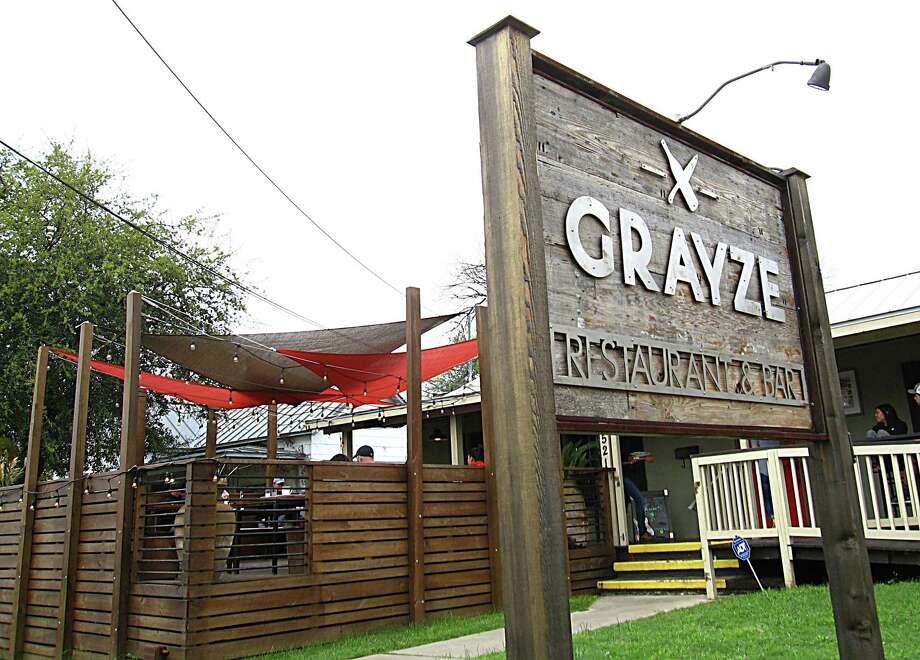 Grayze restaurant in San Antonio. Photo: Mike Sutter / San Antonio Express-News
