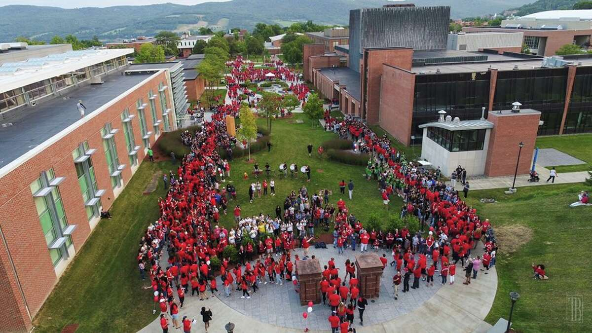 SUNY Oneonta has been directed to send its on-campus students home and cease all in-person classes and activities for the rest of the fall semester. (archive photo)