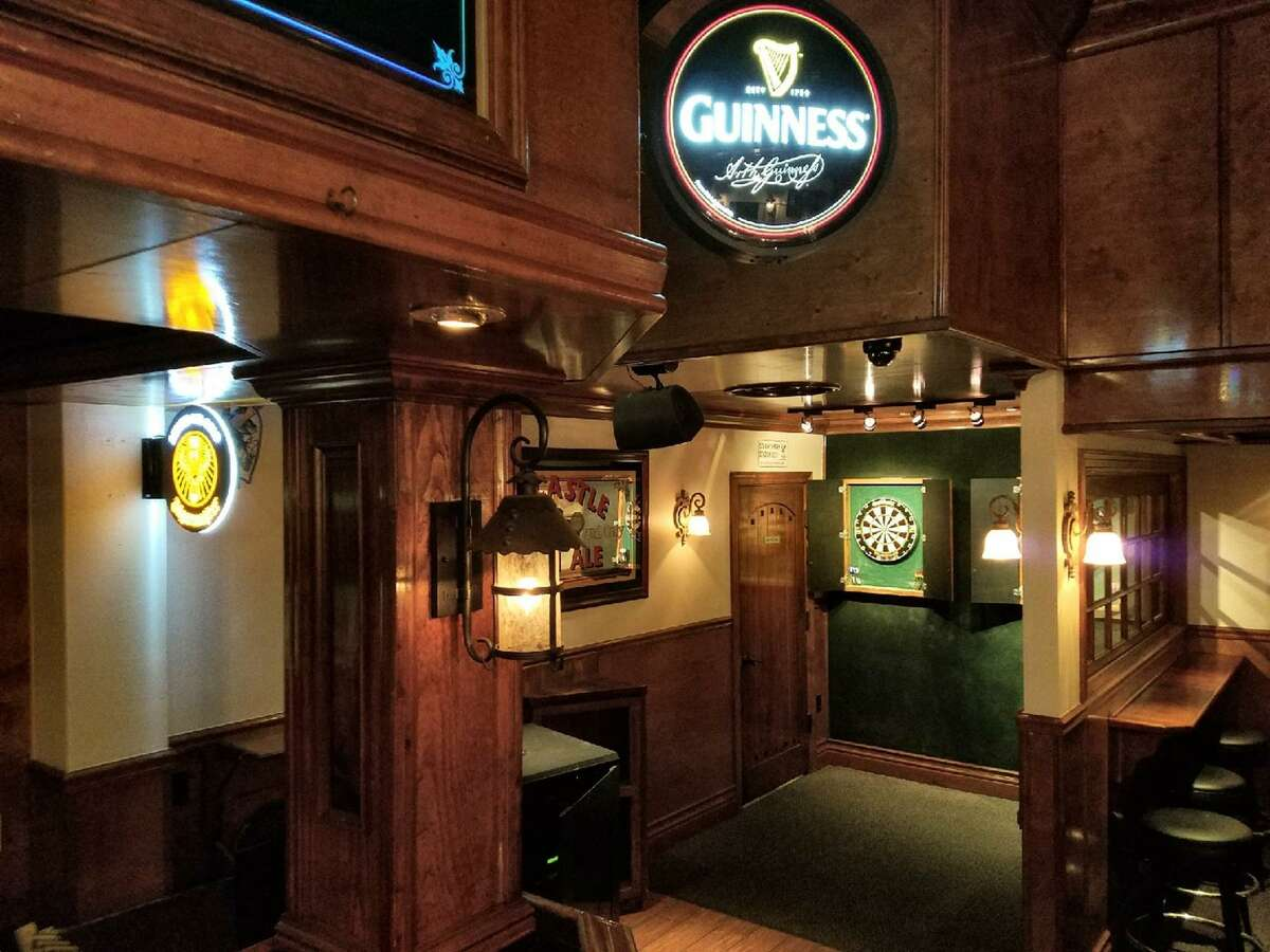 In classic English pub tradition, steel-tipped darts are featured at The Winchester.