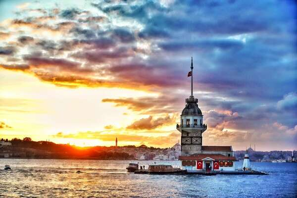 Maiden's Tower in Istanbul.