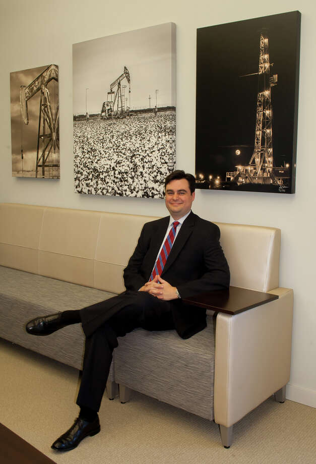 Stephen M. Robertson, 36,Permian Basin Petroleum Association (PBPA) Executive Vice President Photo: MIDLAND REPORTER-TELEGRAM