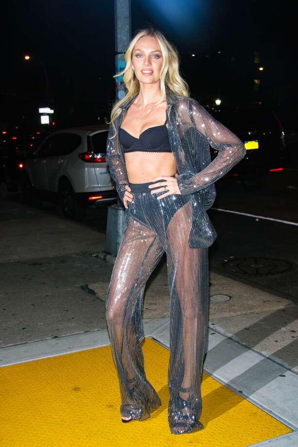 Candice Swanepoel at Victoria's Secret Viewing Party at Spring Studios on November 28, 2017 in New York City. Photo: MediaPunch/Bauer-Griffin/GC Images