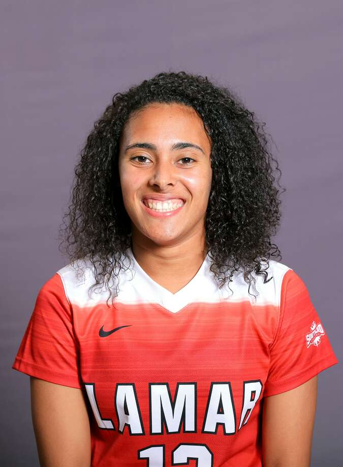 Lamar University women's soccer player Kelso Peskin. (Photo provided by Lamar Athletics)