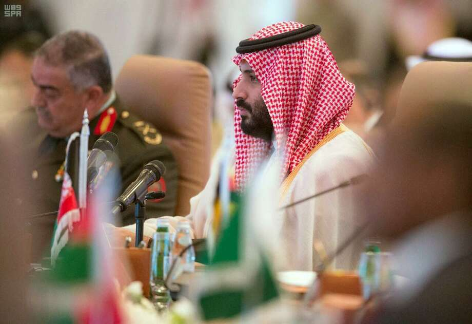 Saudi Crown Prince Mohammed bin Salman is playing a high stakes game in his ongoing conflict with Iran. It could threaten to embroil the U.S. Photo: Untitled /Associated Press / Saudi Press Agency