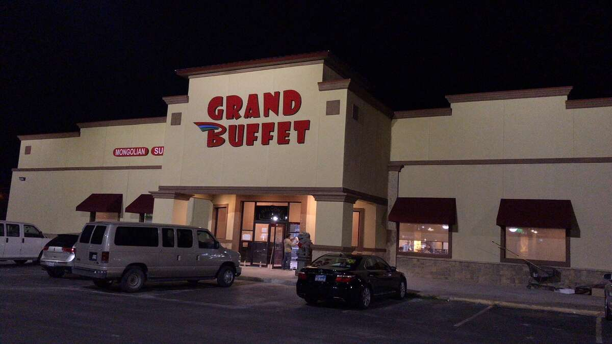 Grand Buffet -- which suffered major damage from a storm in June - reopened Sunday.