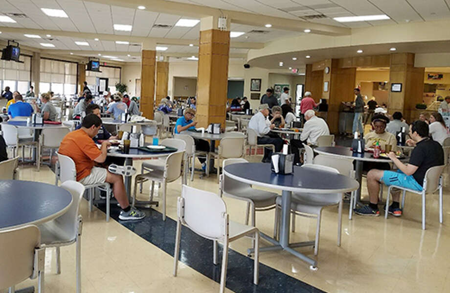 The Jack E. Brown Dining Hall will undergo renovation and become a conference hall, according to Thomas. The space is set to contain the college's Petroleum Professional Development Center and Food Service and Hospitality program. Photo: Midland College