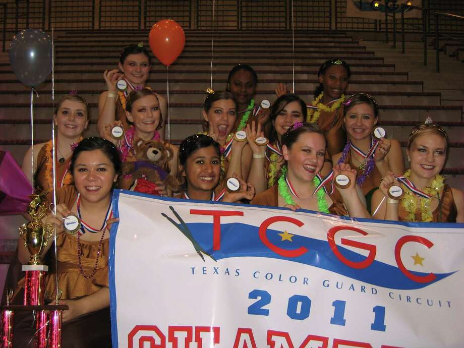 The Oak Ridge Color Guard won the Texas Color Guard Circuit State Championship April 2 in Pearland with a score of 91. The guard will now travel to Dayton, Ohio to compete in the Winter Guard International Championships. Photo: Courtesy Photo / Internal