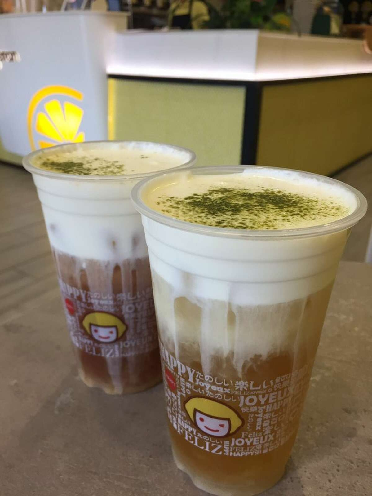 Click ahead to see where you can buy cheese tea in the Bay Area. Happy Lemon has nine different cheese teas including green, milk and chocolate teas with salted cheese. They also offer three teas with a tiramisu salted cheese float. Happy Lemon has a few locations in the Bay Area including Berkeley, San Jose and Burlingame.