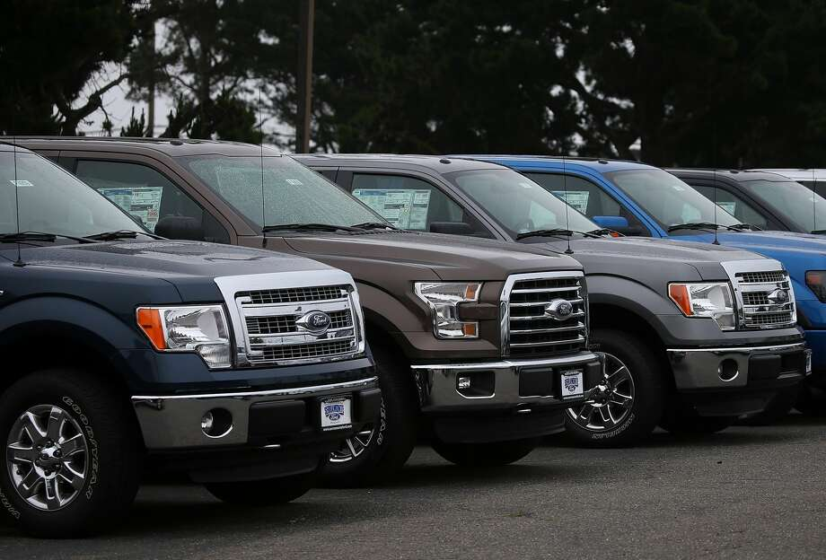 If there are more pickup trucks in a neighborhood, there is an 82-percent chance it voted Republican, according to an algorithm developed by Stanford researchers. Photo: Justin Sullivan/Getty Images