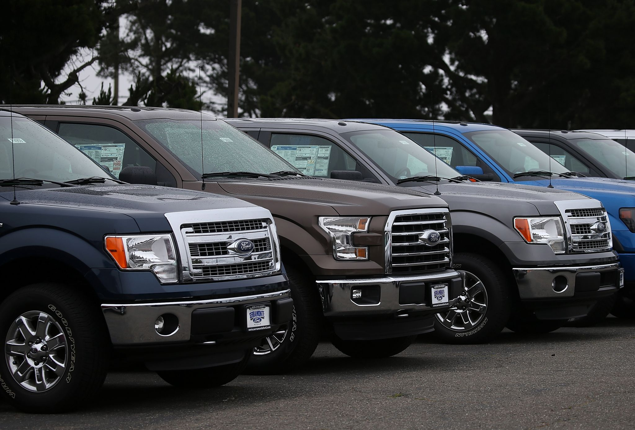 If your neighborhood is full of pickup trucks you might be a Trump