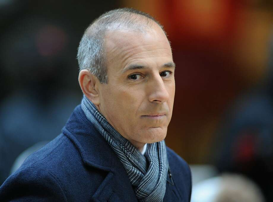 "Matt Lauer attends NBC's ""Today"" at Rockefeller Plaza on November 20, 2012 in New York City.  (Photo by Slaven Vlasic/Getty Images) Photo: Slaven Vlasic/Getty Images"