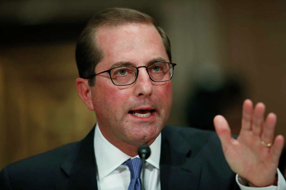 """""""I don't have pharma's policy agenda,"""" said Alex Azar, nominated to be U.S.health secretary.  Photo: Carolyn Kaster, STF / Copyright 2017 The Associated Press. All rights reserved."""