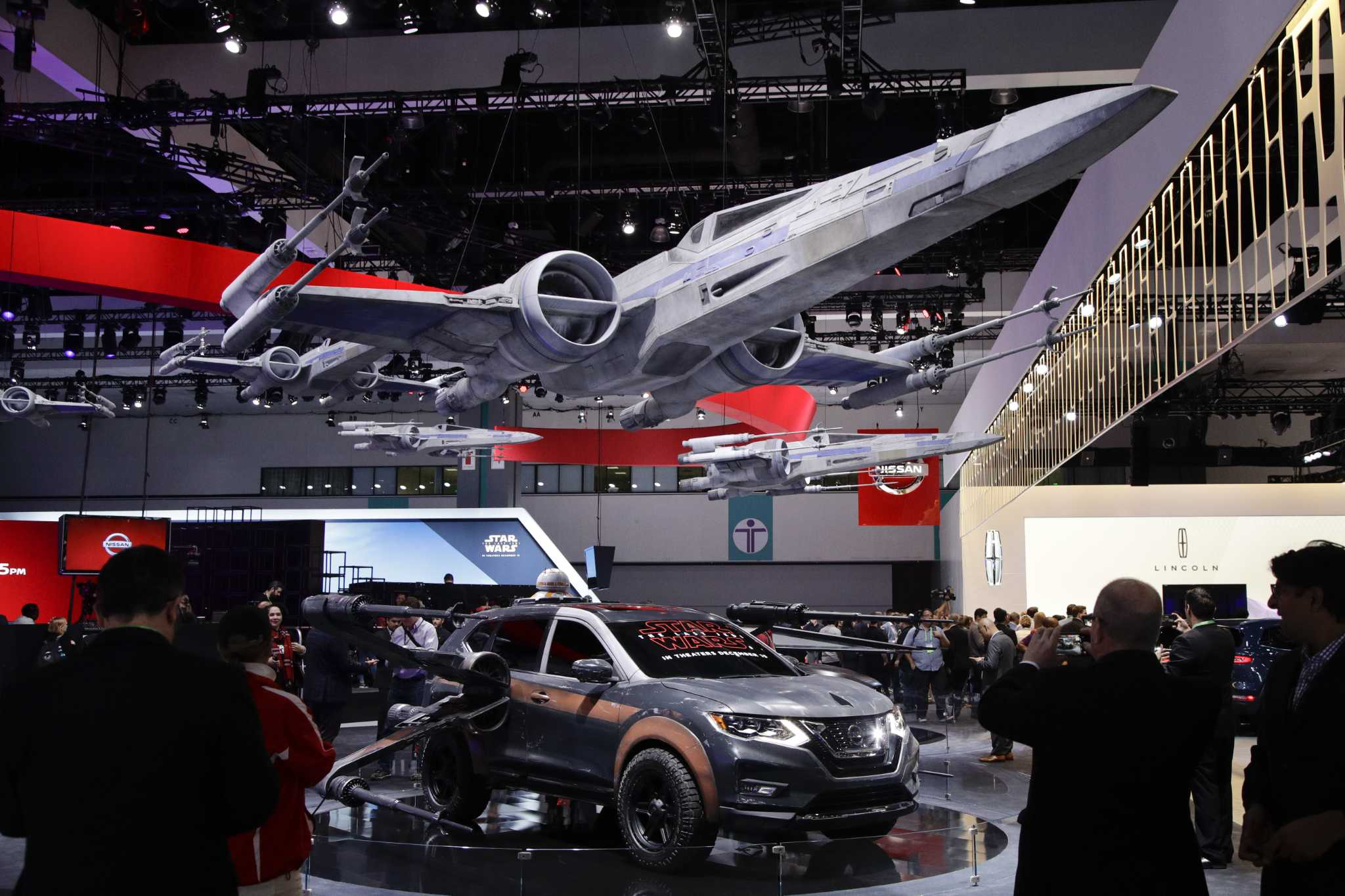 SUVs are main attraction at Los Angeles Auto Show