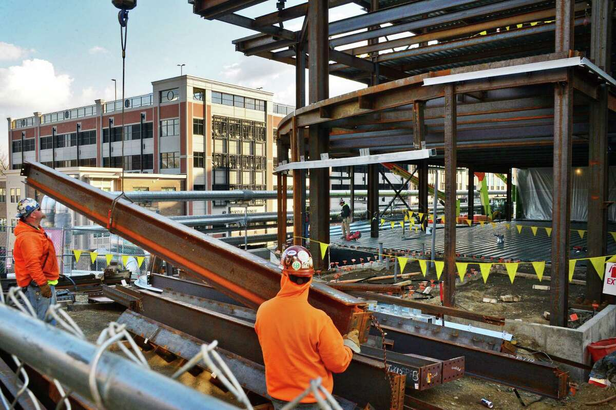 Construction continues on Albany Medical Center's new Pediatric Emergency Department Nov. 29, 2017 in Albany, NY. (John Carl D'Annibale / Times Union)