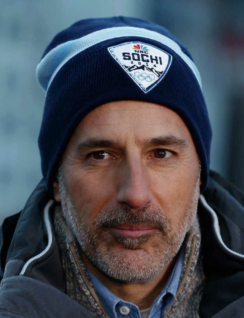 FILE - NOVEMBER 29, 2017: According to reports, NBC has fired Today Show host Matt Lauer over allegations of sexual misconduct. Sources have reported that the allegations stem from an incident at the 2014 Sochi Olympics. SOCHI, RUSSIA - FEBRUARY 06: (BROADCAST-OUT) Matt Lauer reports for the NBC TODAY Show in the Rosa Khutor Mountain Village ahead of the Sochi 2014 Winter Olympics on February 6, 2014 in Sochi, Russia. (Photo by Scott Halleran/Getty Images) ORG XMIT: 690205271