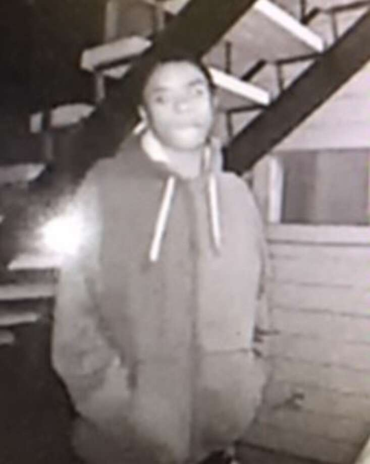 The suspect is described as a black man who is about 5 feet 8 inches tall. He is accused of participating in an armed robbery in early October on the West Side. Photo: Crime Stoppers
