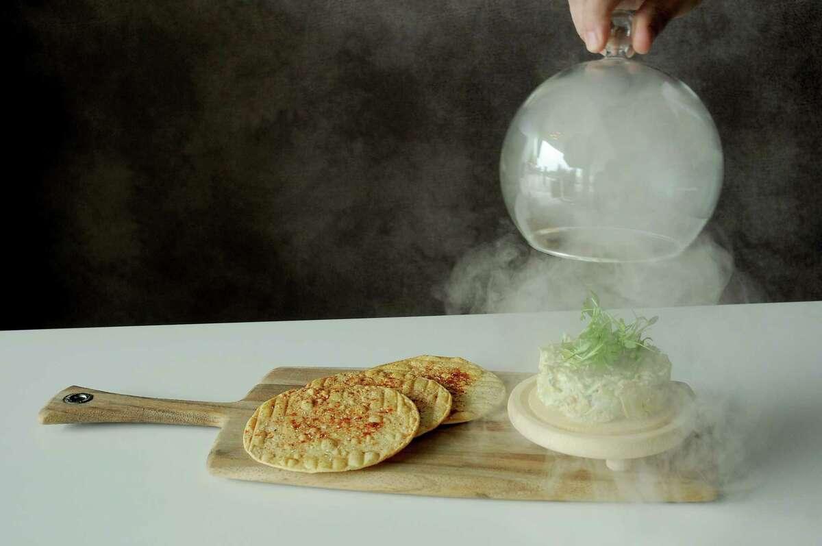 The smoked whitefish guacamole at Peska Cocina Latina.