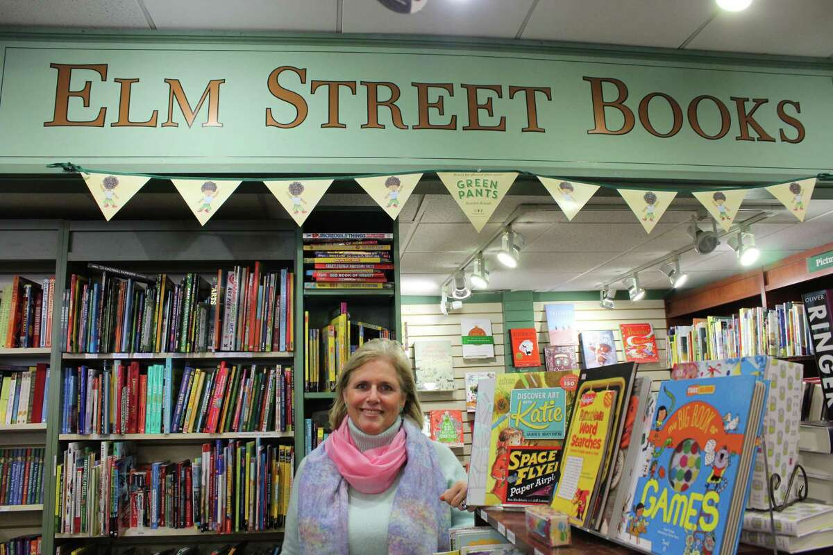 Melissa Thorkilsen is the manager of children's books at Elm Street Books in downtown New Canaan.