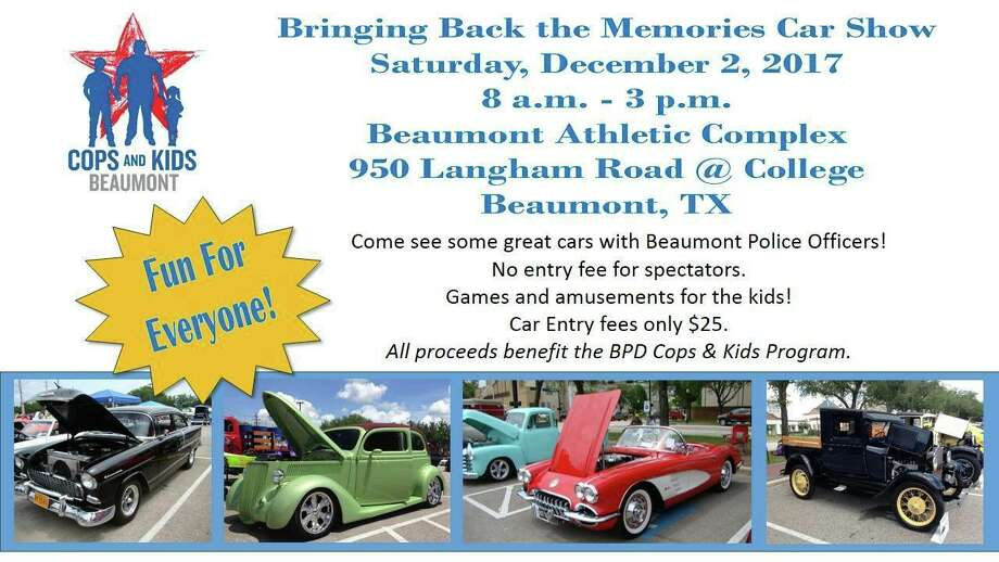 Bpd To Host Vintage Car Show On Saturday Beaumont Enterprise