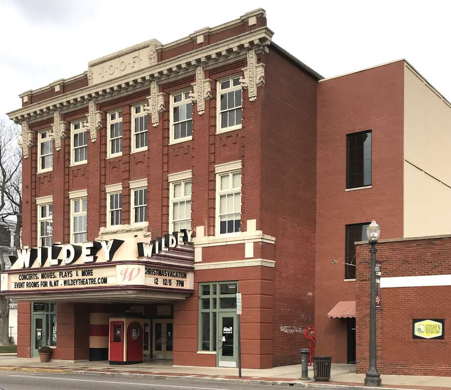 Pictured is the city of Edwardsville's Wildey Theatre. Photo: Cody King • Cking@edwpub.net