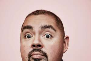 BEVERLY HILLS, CA - JULY 31:  (EDITORS NOTE: This image has been digitally altered)  Comedian Gabriel Iglesias poses in the Getty Images Portrait Studio powered by Samsung Galaxy at the 2015 Summer TCA's at The Beverly Hilton Hotel on July 31, 2015 in Beverly Hills, California.  (Photo by Maarten de Boer/Getty Images)