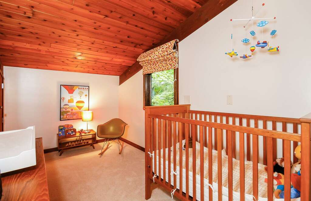 The mid century home at 124 Armand Road in Ridgefield used to be a model. Model home in Ridgefield now glass oasis   NewsTimes