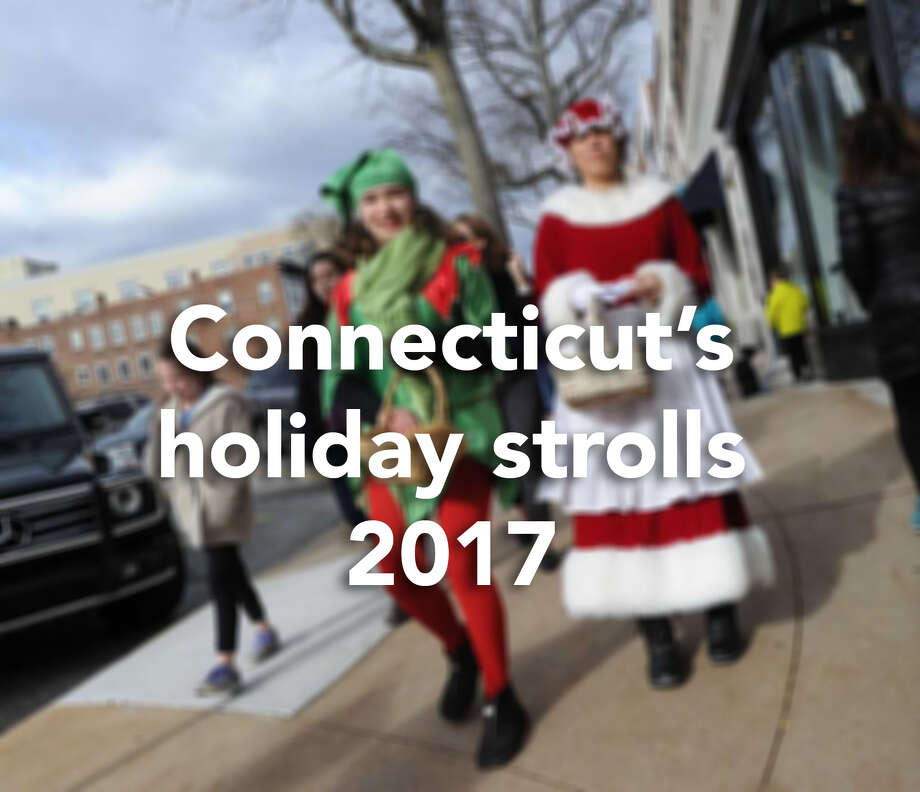 Mark your calendars: the season of holiday strolls is here.