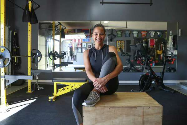 Khou anchor feels right at home working out