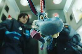 Happy, the title character in a new SyFy series, is voiced by Patton Oswald.