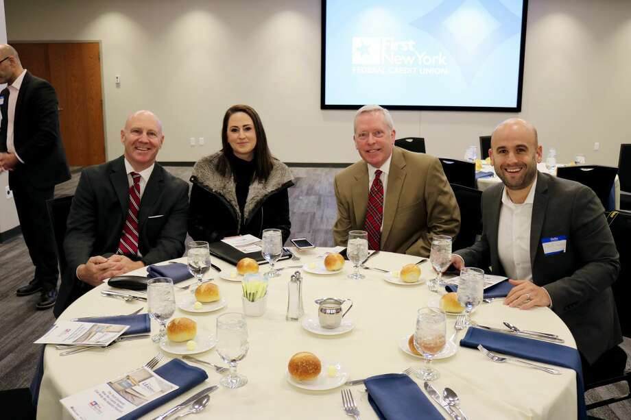 Were you Seen at the Hearst Media Center Leadership Luncheon event  on Nov. 30, 2017, with First New York Federal Credit Union? Were you Seen at the Hearst Media Center Leadership Luncheon event  on Nov. 30, 2017, with First New York Federal Credit Union? Photo: Amanda Case