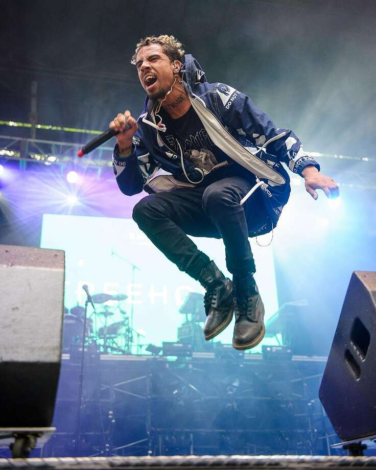 Vic Mensa is touring with Jay-Z. Photo: Kyle Gustafson, For The Washington Post