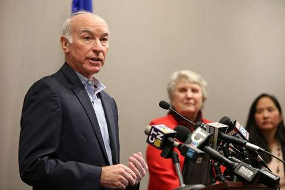 U.S. Rep. Joe Courtney last week in Hartford announcing the IRS guidance Photo: Ctnewsjunkie File Photo