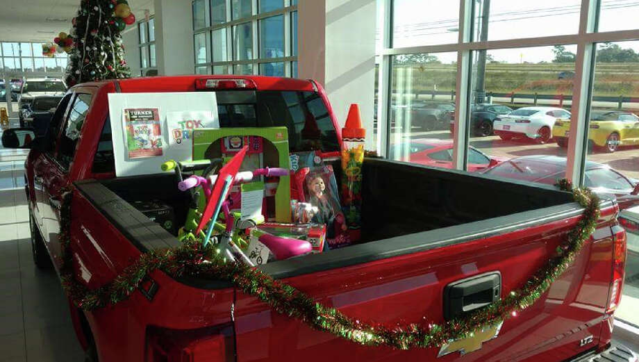"Turner Chevrolet in Crosby is asking for donations of new, unwrapped toys until Saturday, Dec. 9, for their annual Toy Drive and 4x4 Parade. Photo: Courtesy Of ""Turner Chevrolet Crosby, Texas"" Facebook Page"