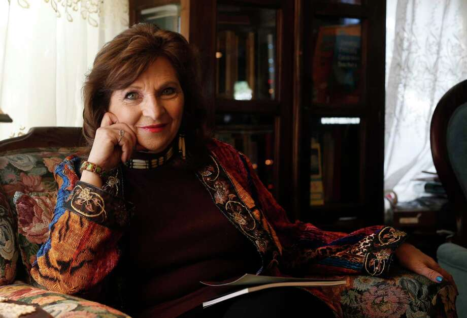 "Carmen Tafolla, former poet laureate for Texas and San Antonio, will take part in Urban-15's ""Mega Corazón"" livestream. Photo: Kin Man Hui /Staff File Photo / ©2017 San Antonio Express-News"