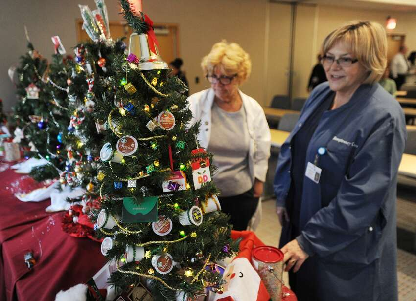 The 15th Annual Tree Lighting at St. Vincent's Medical Center in Bridgeport, Conn. on Thursday, November 30, 2017.