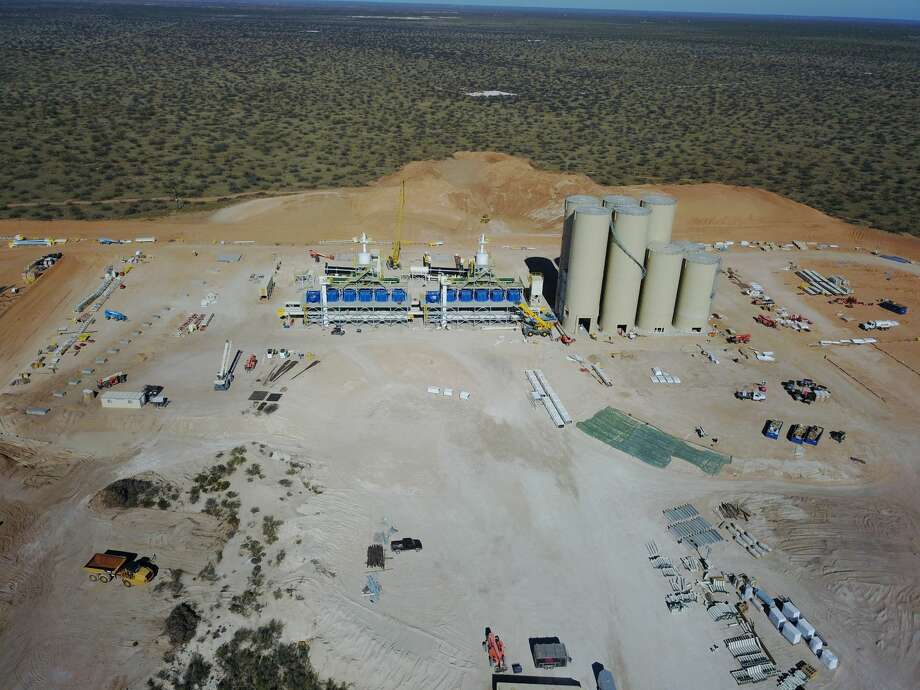Preferred Sands is near completion of its 3.3 million finished ton-per-year frac sand mine at Monahans. When the facility opens in January 2018, it will create 130 new jobs. Photo: Photo Courtesy Preferred Sand