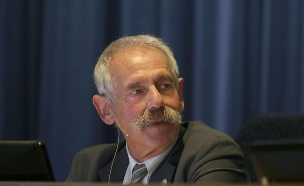 President Michael Picker (left) denied the request of San Diego Gas & Electric to recover costs related to the 2007 Southern California Wildfires on Thursday, November 30, 2017, in San Francisco, Calif.