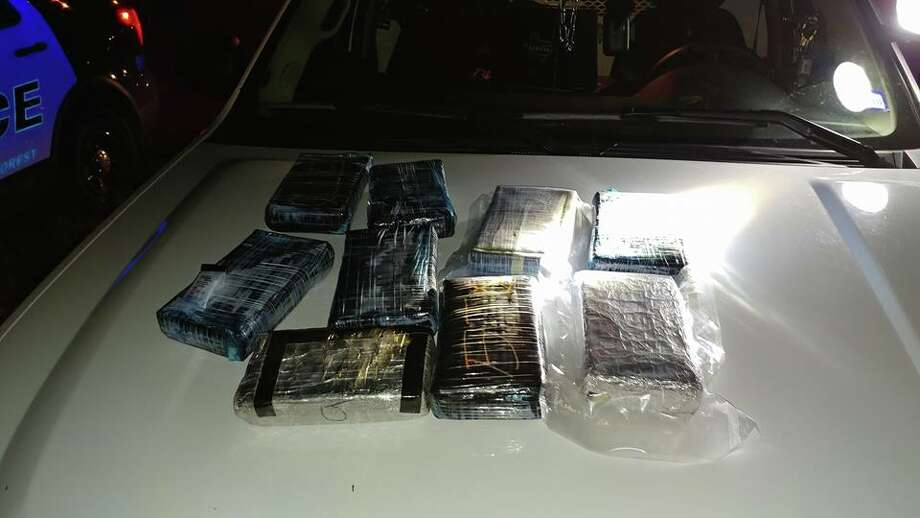 A routine traffic stop yielded 12 kilos of cocaine on U.S. 59 early Thursday, Nov. 30, 2017. Renisha Renee Polk, 34, of Houston, is facing a first-degree felony drug charge in connection with the bust. Photo: Submitted Photo