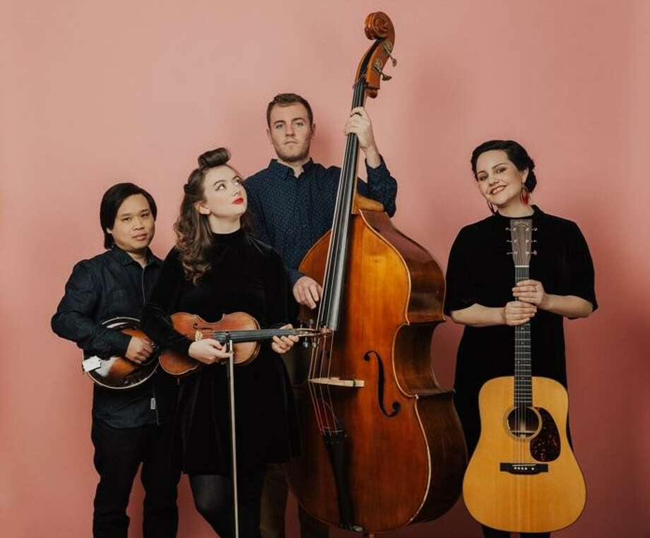 Boston-based string band Twisted Pine will perform at Best Video Film & Cultural Center in Hamden on Friday night in the latest show presented by Chris Wuerth's GuitartownCT. Showtime is 7:30 p.m. Tickets are $20 in advance at guitartownct.com or $25 at the door. Photo: Courtesy Of Joanna Chattman