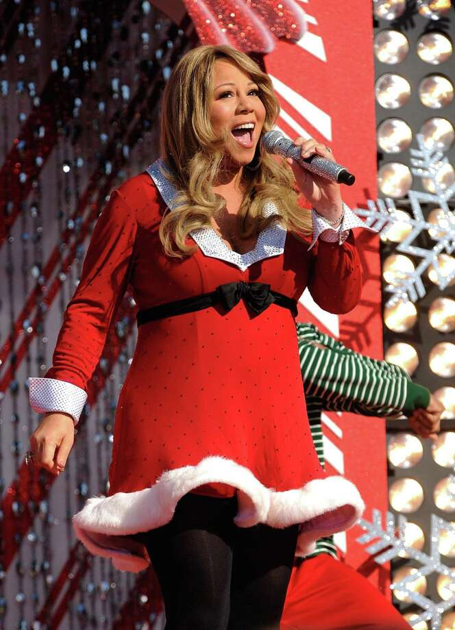 "Mariah Carey holds the No. 1 position on Billboard's Christmas song chart with ""All I Want for Christmas is You."" Photo: Mark Ashman / Contributed Photo / Disney"