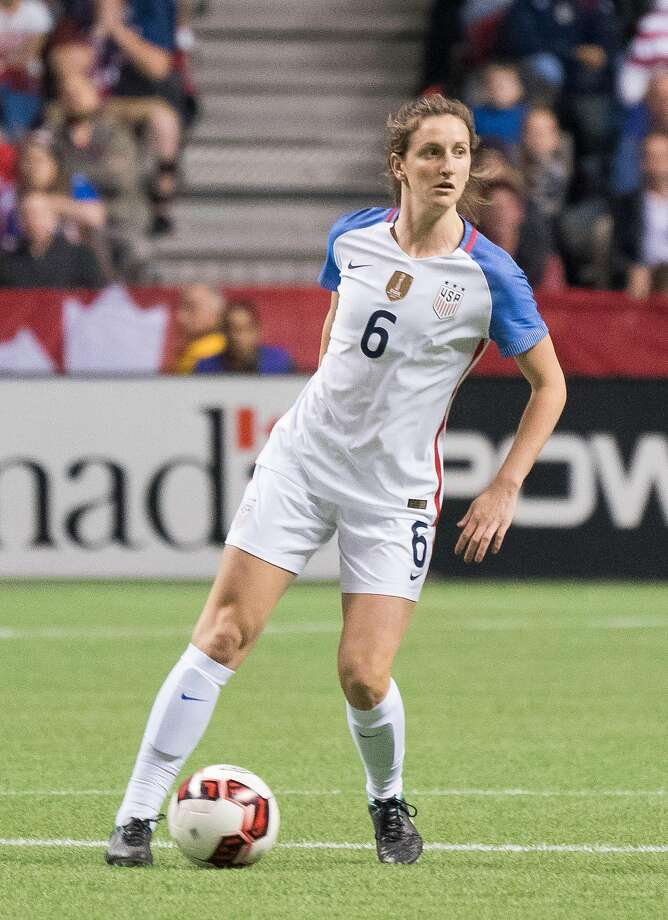 Andi Sullivan has juggled committments to Stanford and U.S. women's soccer this season. Photo: Rich Lam, Getty Images