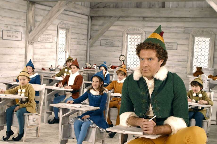 "Will Ferrell's ""Elf"" was only a modest box-office success in 2003, but it has become a holiday favorite through frequent cable TV showings. Photo: Alan Markfield / Contributed Photo / NEW LINE CINEMA"