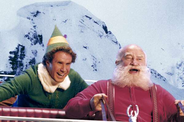 """Ed Asner is Santa Claus and Will Ferrell the elf named Buddy in the holiday favorite """"Elf."""""""