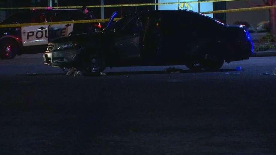 A 22-year-old man is charged with first-degree murder on officers'  belief that he executed his girlfriend in a Federal Way parking lot last  week. Photo: KOMO
