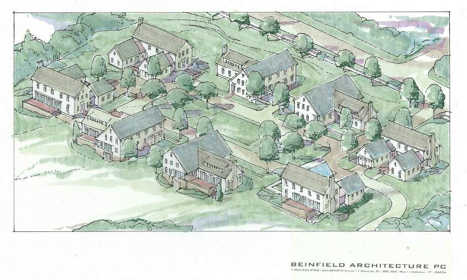 A Beinfield Architecture rendering of Windover Common, a Silver Heights Development project under construction with homes to become available starting in early 2018. (Rendering courtesy Silver Heights Development)